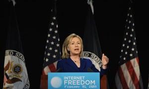WikiLeaks row Twitter Hillary Clinton