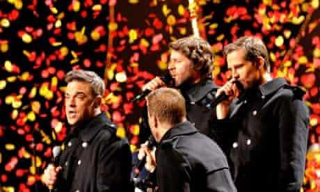 Take That at the Brit awards