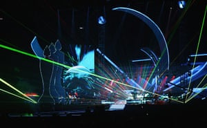 2011 Brit awards: The BRIT Awards 2011 - Show