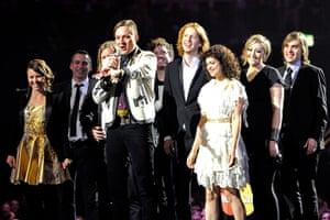 Brit awards: Arcade Fire