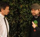 Guy Pierce with David Michod