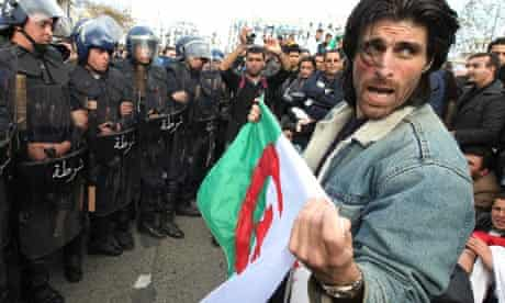 unrest in Algiers