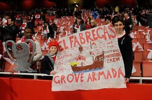 Champions League1: Arsenal v Barcelona