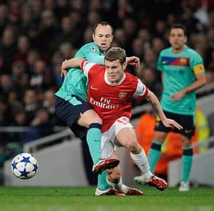 Champions League2: Arsenal v Barcelona