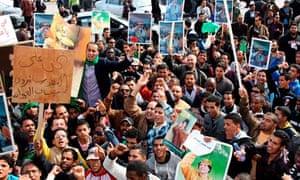 Libya cracks down on protesters after violent clashes in benghazi libya cracks down on protesters after violent clashes in benghazi sciox Choice Image