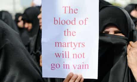 Protest continue in Bahrain