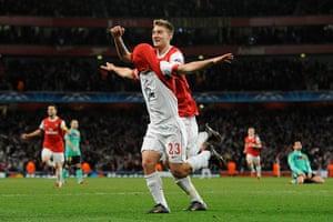 Champions League4: Arsenal v Barcelona