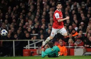 Champions League5: Arsenal v Barcelona