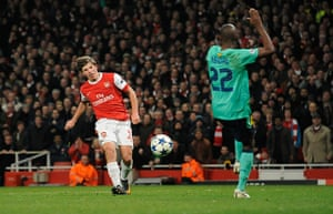 Champions League6: Arsenal v Barcelona