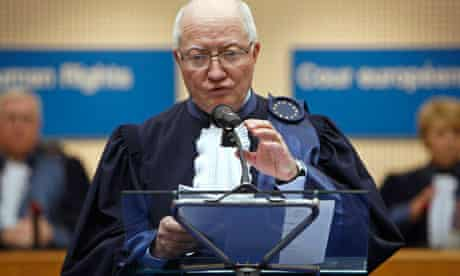 Jean-Paul Costa, president of European Court of Human Rights
