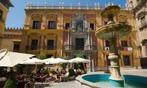 Plaza del Obispo, Malaga
