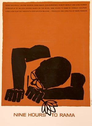 Saul Bass: Nine Hours To Rama poster