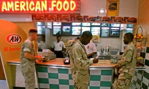 Life for US navy personnel at the fifth fleet base in Manama, Bahrain.