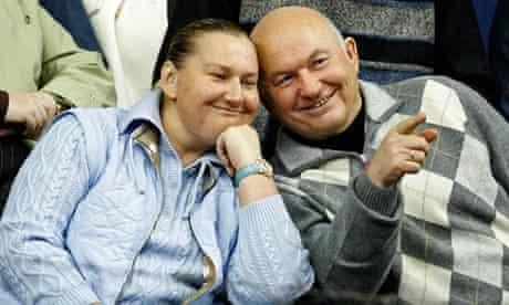 Yelena Baturina with her husband Yuri Luzhkov