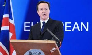 David Cameron British bill of rights
