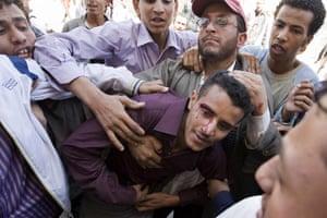 Yemen: Yemeni anti-government protesters
