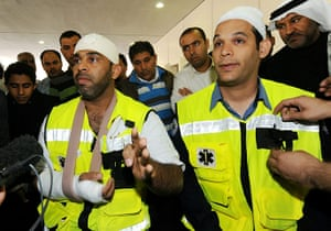 bahrain: Paramedics who were injured by security forces