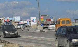 Hawara checkpoint, February 2011
