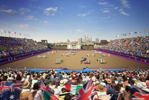 2012 Venues: Updated artist's impression of the 2012 Olympic Equestrian Venue