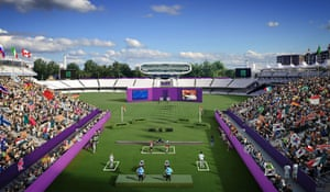 2012 Venues: Updated artist's impression image of the 2012 Olympic Archery Venue