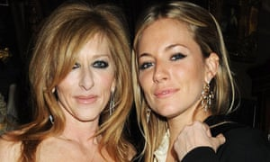Kelly Hoppen and Sienna Miller
