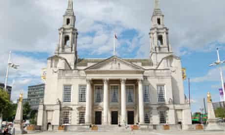 Leeds civic hall front