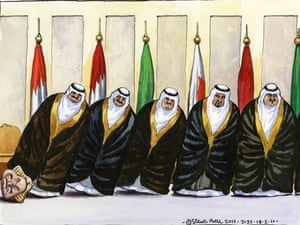 18.02.11: Steve Bell on continuing unrest in the Middle East