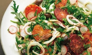 Ottolenghi: Blood orange and anchovy salad
