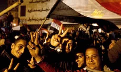 Egypt's President Hosni Mubarak resigns, Cairo, Egypt - 11 Feb 2011