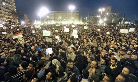 Anti-government protests in Cairo