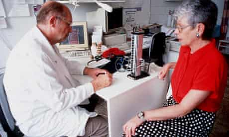 DOCTOR AND WOMAN  PATIENT 1998