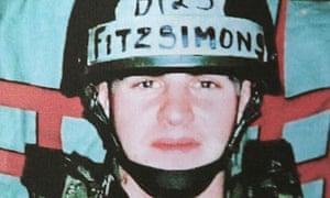 Daniel Fitzsimons is accused of shooting dead fellow contractors Paul McGuigan and Darren Hoare