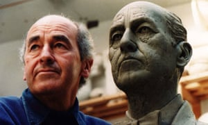 Peter Thursby's self-portrait sculpture for the Royal West of England Academy