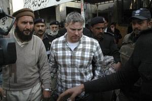 Pakistan: US consulate worker Raymond Davis.