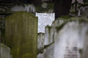 Bunhill fields cemetery: The gravestone of Susanna Wesley, the mother of John Wesley