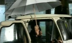 Screen grab of Muammar Gaddafi
