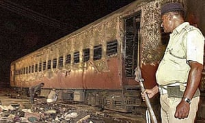 The Godhra train fire killed 60 Hindu pilgrims and activists in February 2002
