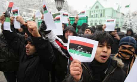 Libyan protest