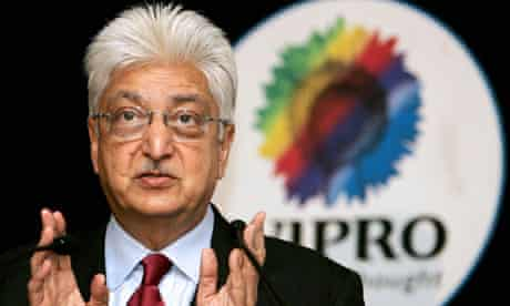 Chairman, Indian software exporter Wipro