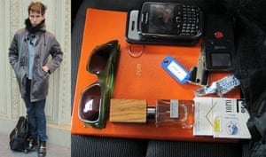 What's in your bag?: Garth Spencer