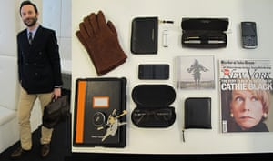 What's in your bag?: Jeremy Langmead