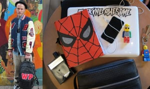 What's in your bag?: Way Perry