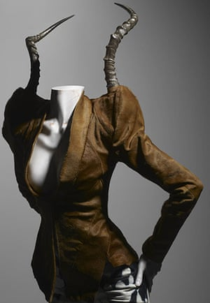 Alexander McQueen: Ensemble, It's a Jungle Out There, autumn/winter 1997-98