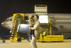 Libya unrest: A Dutch military aircraft used to evacuate Dutch nationals from Libya