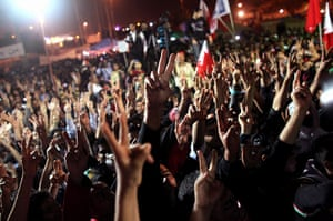 from the agencies: release of political prisoners in bahrain