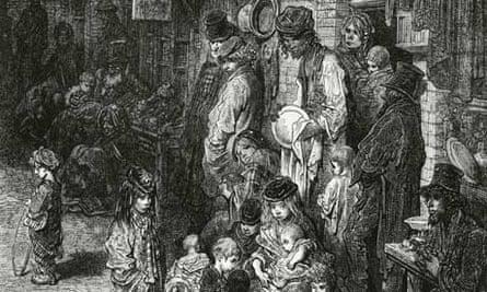 A Victorian slum in Whitechapel
