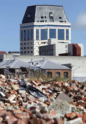 Christchurch earthquake: The Grand Chancellor Hotel which is expected to collapse
