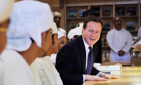 Cameron in Oman