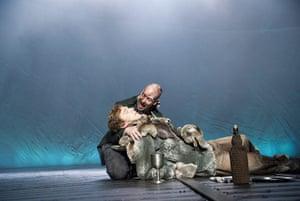 frankenstein: Benedict Cumberbatch as  Frankenstein and Jonny Lee Miller as The Creature