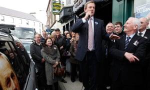 Fine Gael leader Enda Kenny